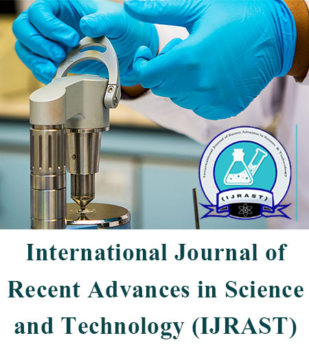 View Vol. 6 No. 2 (2019): International Journal of Recent Advances in Science and Technology
